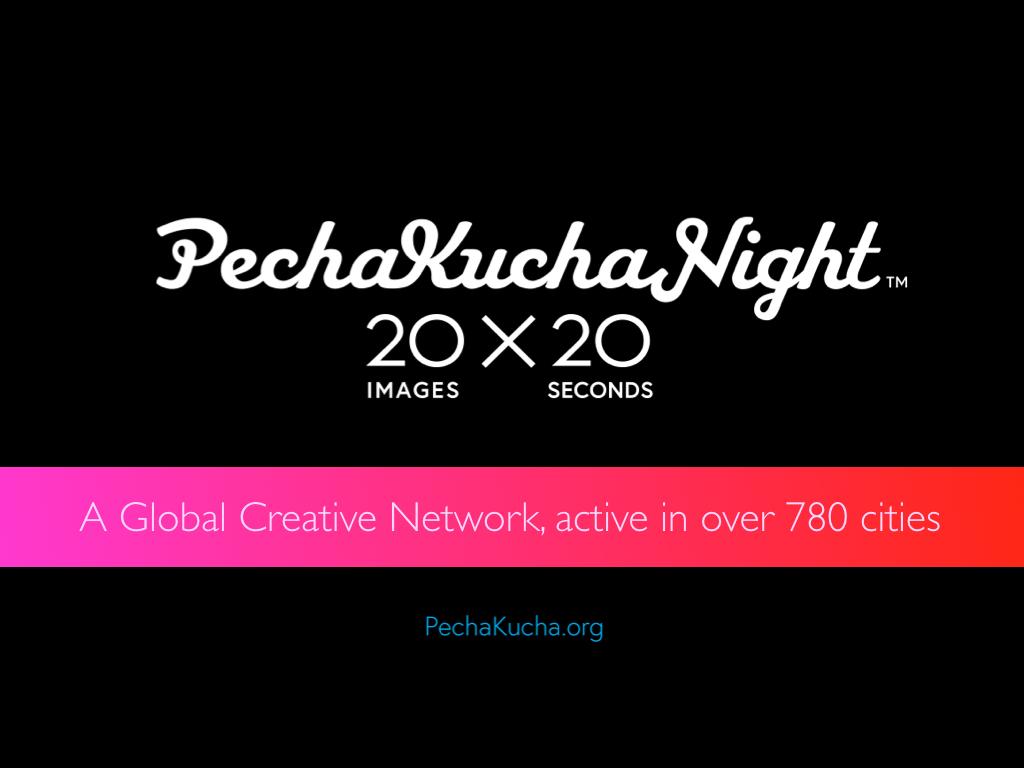 pecha kucha power and informed young leaders | informed young leaders, Presentation templates