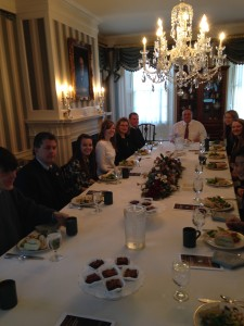 IYL Gov. LePage Lunch Table